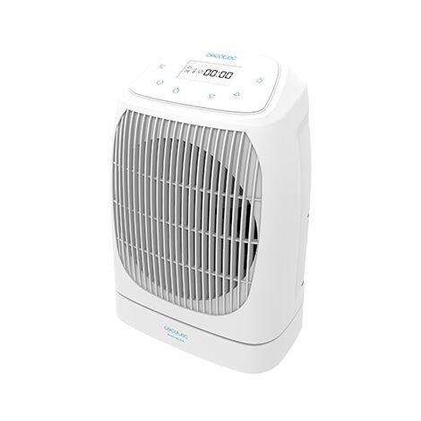Termoventilador readywarm 9870 smart rotate, bajo consumo, oscilación, potencia 2000w con 2 niveles de potencia, pantalla lcd, 3