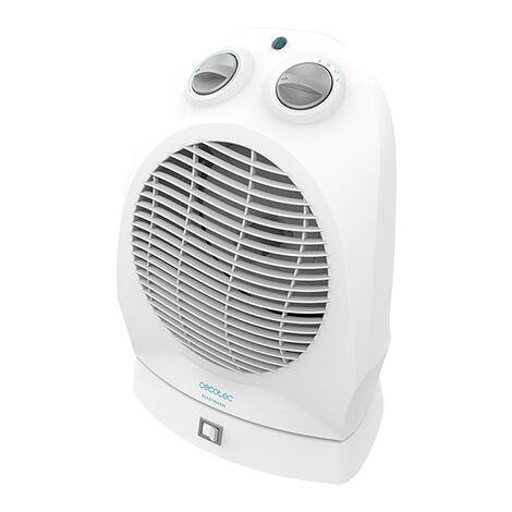 Termoventilador readywarm 9890 rotate force, bajo consumo, oscilación, potencia 2400w con 2 niveles, silencioso, 3 modos de func