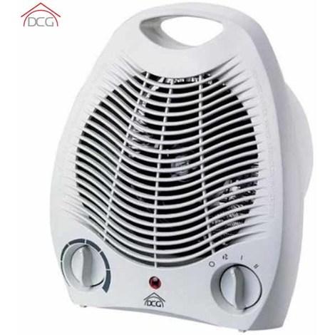 Termoventilatore Caldobagno 2000W Scaldo Caldo Bagno Bianco DCG Riscaldamento