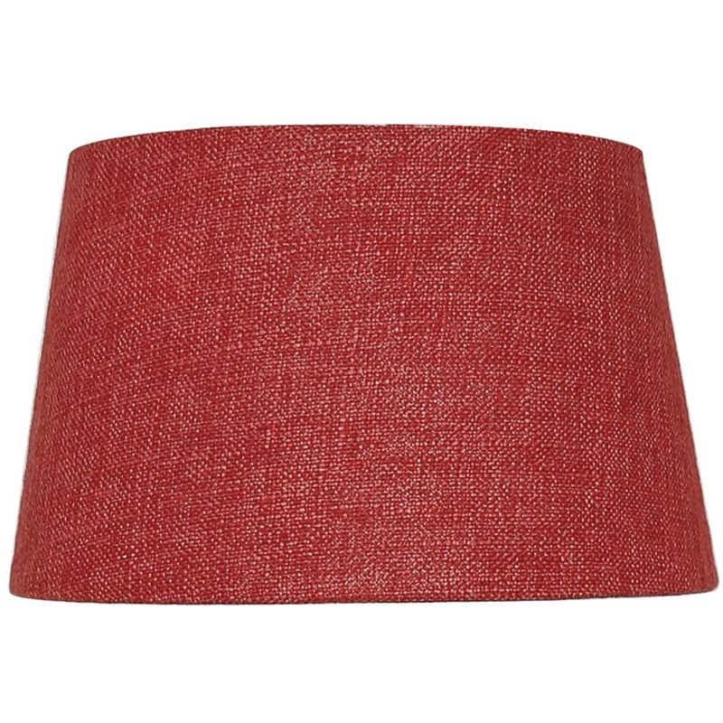 Image of Terracotta 9 Inch Linen Empire Shade (Dual Fitting) - CIMC