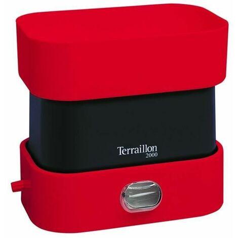 TERRAILLON 14323 - Balance cuisine - BA2000 VINTAGE ROUGE - Conversion liquides - Poignée intégrée - Large plateau