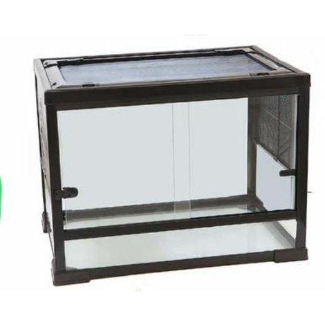 Terrario in vetro cm60