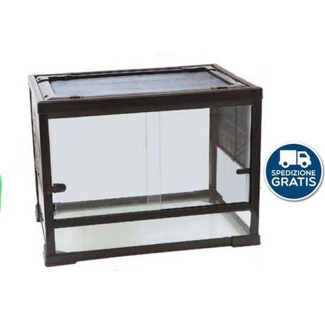 Terrario in vetro cm80