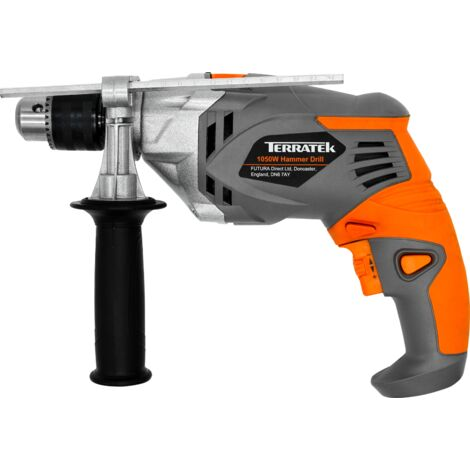 Terratek 1050W Powerful Variable Speed Electric Hammer Drill