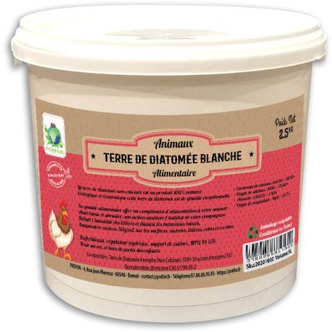 Terre De Diatomee Alimentaire Blanche Seau 2,5kg