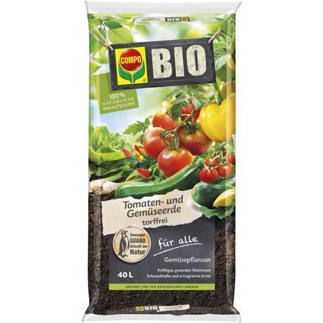 Terre végétale BIO pour tomates 40L COMPO SANA (Par 51)