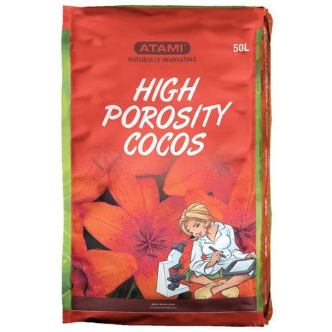 Terreau High Porosity Cocos fibre de coco haute porosité 50L - Atami