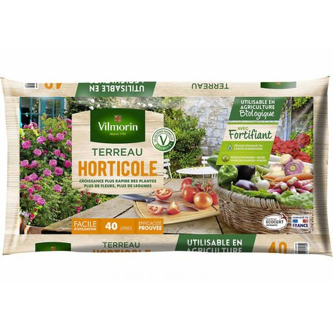Terreau horticole 40L