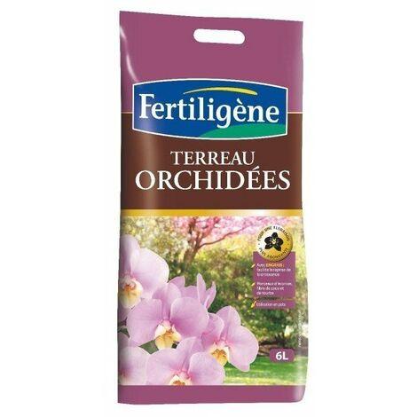 Terreau orchidées sac 6 l