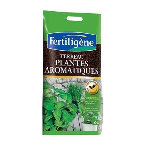 Terreau plantes aromatiques 6 litres FERTILIGENE
