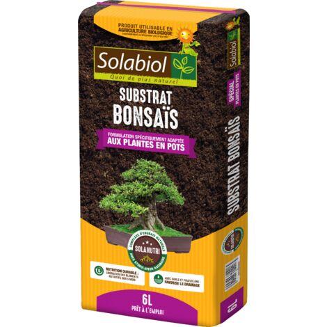 Terreau pour bonsaïs en sac de 6 litres