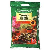 Terreau semis bouturages et repiquages vilmorin sac de 10 litres