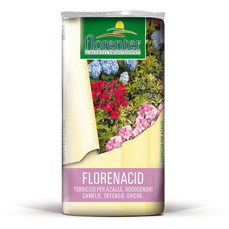 Terriccio bio per piante Acidofile Florenacid - 50 Litri