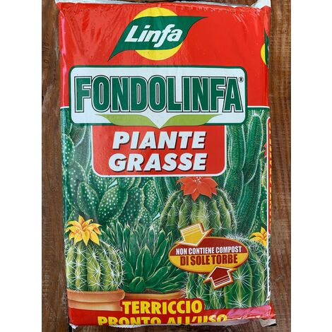 Terriccio Linfa per piante grasse 10 Lt