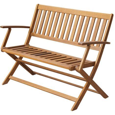Terrill Wooden Bench by Dakota Fields - Brown