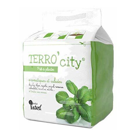 Terro City - révolutionnez Le Jardinage Urbain avec Le terreau Simple et Facile, 3 étapes en 5 Minutes ! (1)