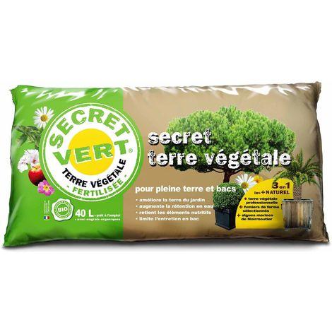 Terrreau bio secret terre végétale 40 litres