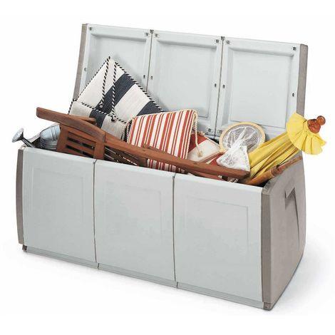 Terry cassapanca baule box in resina plastica box da esterno interno 140x54xh57