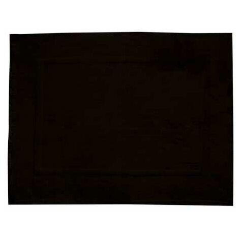 Terry shower mat Paradise Black WENKO