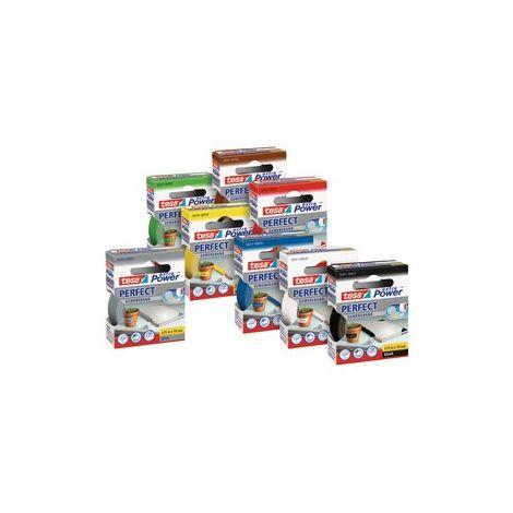 Tesa 56343-00038-03 cinta adhesiva extra Power Perfect (rojo) (por 6)