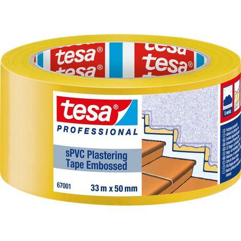 tesa 67001-00001-00 Bande adhésive de plâtrage jaune (L x l) 33 m x 50 mm 1 pc(s)