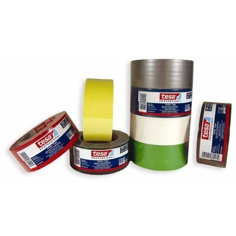 tesa Gaffer Tape 4688 amarillo 50 Metros x 50 mm 04688-00020-00 (18 unidades)