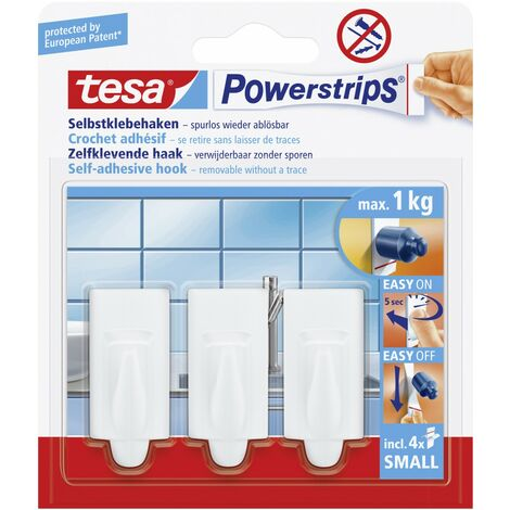 tesa Haken Powerstrip Small 3er-Set, trend