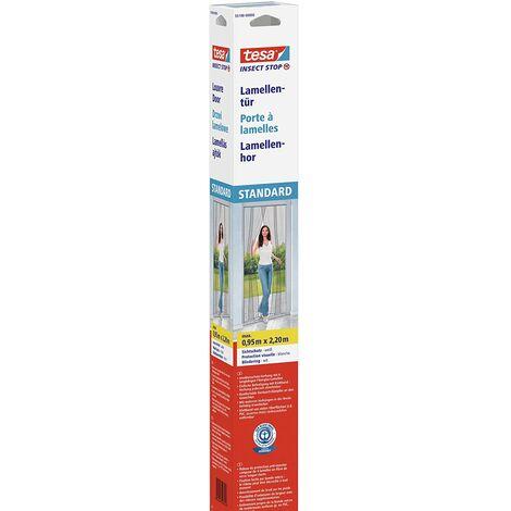 TESA Moustiquaire Standard Lamella - 0,95 m x 2,20 m - Blanc