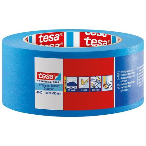tesa Precision Mask Outdoor 4440 50mx19mm azul (1 unidades)