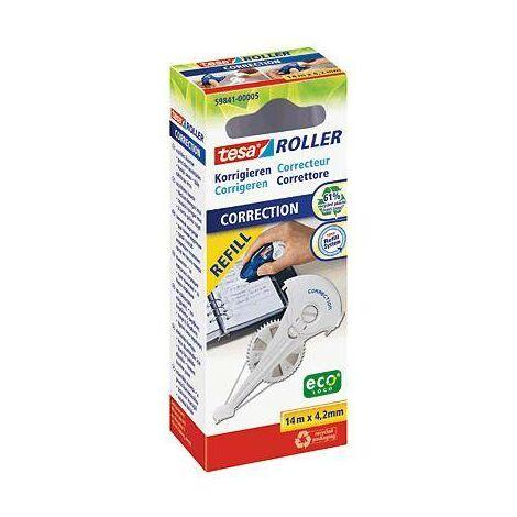 tesa Recharge pour roller correcteur ROLLER 59841 4.2 mm blanc 14 m 1 pc(s) Y19836