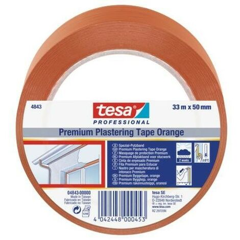 tesa Revoco Premium 04843 33x50 naranja