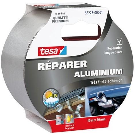TESA - Ruban aluminium - 10 m x 50 mm