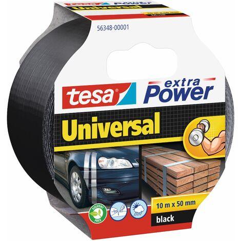 tesa Ruban extra Power Univerçal noir 10m x 50mm