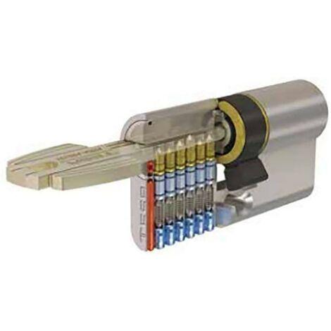 Tesa T6Nv5304040N Cylindre de sécurité à came longue 30X40Mm Nickel T6Nv53040N Tesa T6Nv53040N