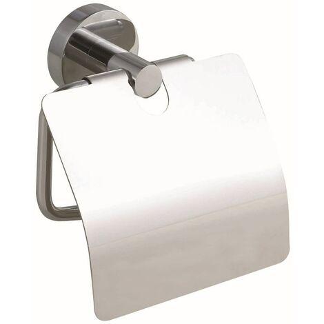 tesa WC-Papierrollenhalter Smooz mit Deckel