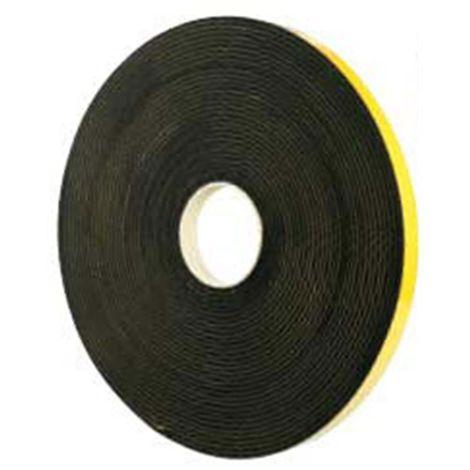 tesaMoll 60492 EPDM - espesor 4mm negro 10 Metros x 19 mm 60492-00003-00 (5 unidades)