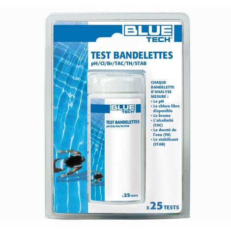 Test bandelettes 6 paramètres (x25)