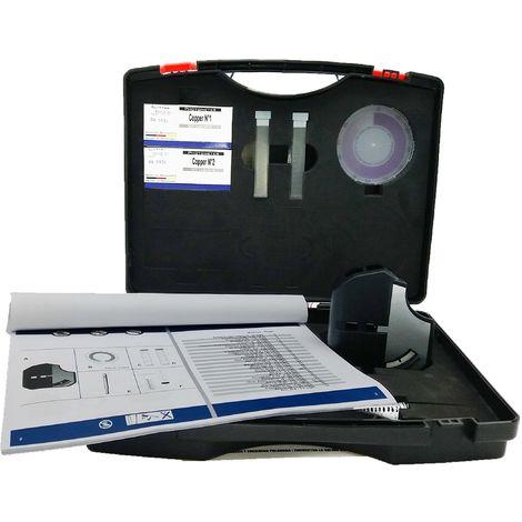 Test maletín disco colorímetro Cobre rango medición 0.0 - 5.00 mg/L