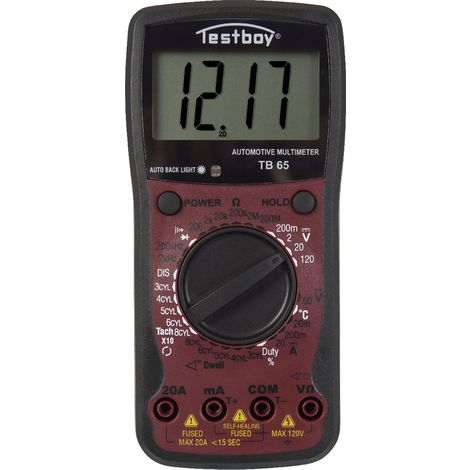 Testboy 65 Multimètre automobile - Testboy 65