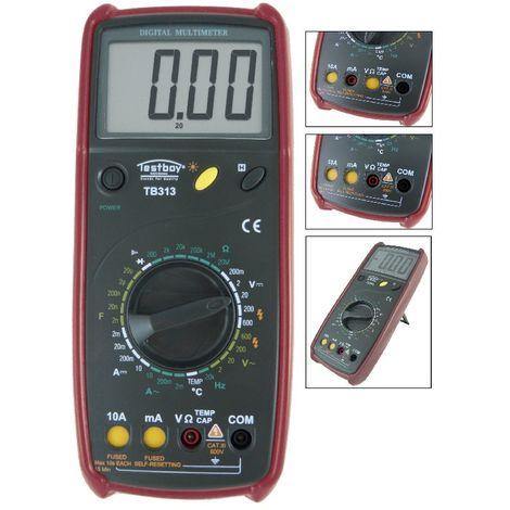 Testboy Multimètre numérique - Testboy TB 313