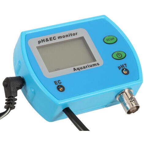 Rilevatore di pH-metro del tester di qualit/à dellacqua per lacquario della piscina dellacqua potabile con compensazione automatica della temperatura