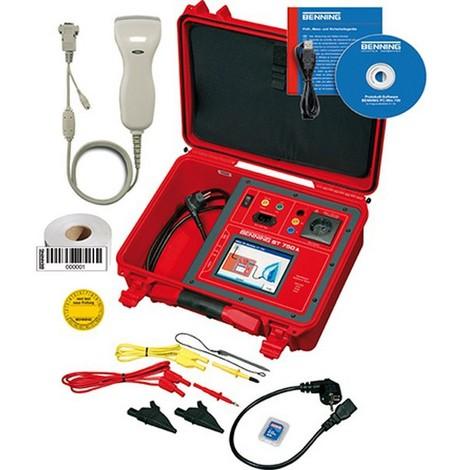 Testeur d'appareils ST 750 A SET, Interfaces : 3 x USB, 1 x RS 232, Puissance effective/apparente : 20-4000 W