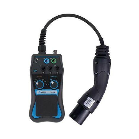 Testeur de bornes de recharge de véhicules électriques - 400V - IP40