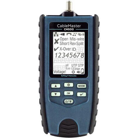 Testeur de câblage universel à prix réduit avec détermination de la longueur et lampe de poche C661581