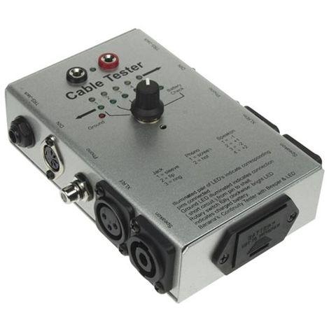 Testeur De Câble Audio - 6 Types