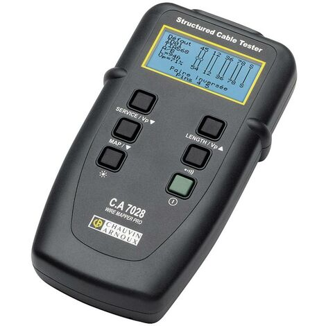 Testeur de câbles réseau, télécommunication Chauvin Arnoux C.A 7028 P01129501 1 pc(s)