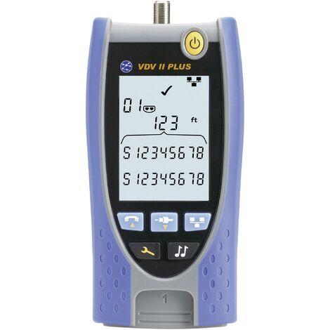Testeur de câbles VDV II Plus pour câblages voix, données, images (VDI) A704671