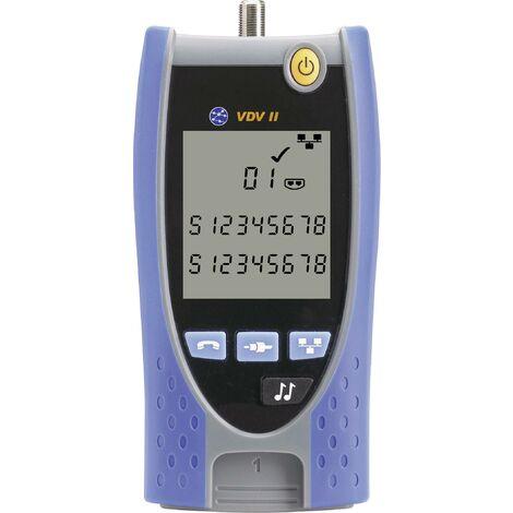 Testeur de câbles VDV II pour câblages voix, données, images (VDI) A704401