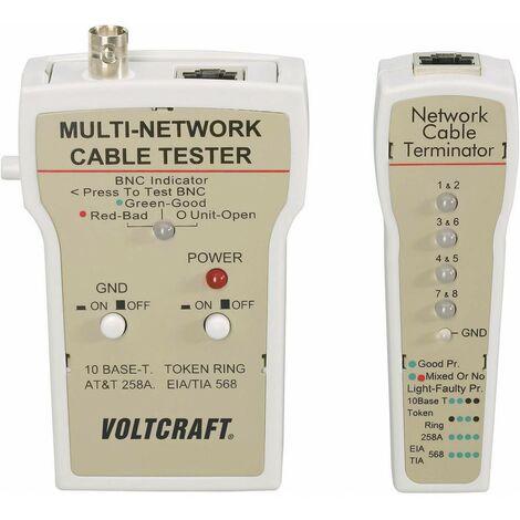 Testeur de câbles Voltcraft CT-1