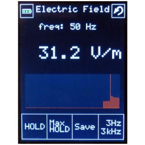 Testeur de champs électromagnétiques 1Hz-110Hz+10MHz-6GHz